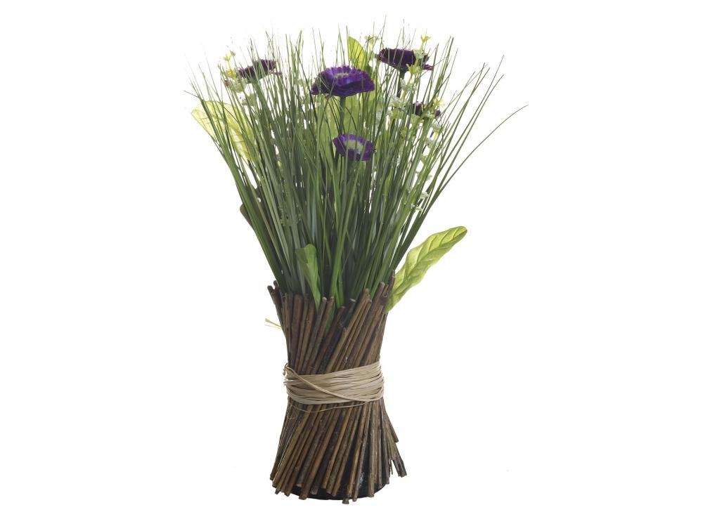 Букет маргариток фиолетовых