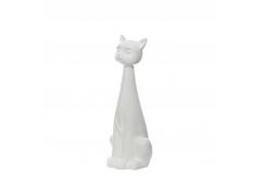 """Статуэтка """"Белый кот"""""""