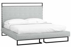 Кровать 1.6 Loft с подъемным механизмом и ящиком